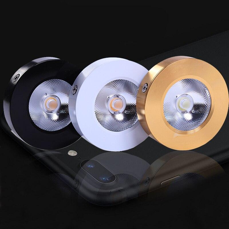 Downlights cob spot light lâmpadas 3 Material : Alumínio