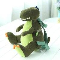 Kawaii Corduroy Dinosaur Backpacks Tyrannosaurus rex Cute Anime Plush Bag kids kindergarten Schoolbag Children Backpack Boys