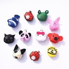 3 шт животных многоразовая сумка для покупок с короткими ручками
