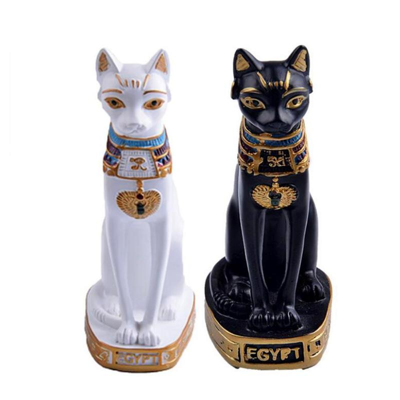 2019 Egypt Cat Home Decoration Accessories Vintage Home Decor Figurines Statuettes Easter Souvenirs Miniature Lucky Gifts Dolls S3 From