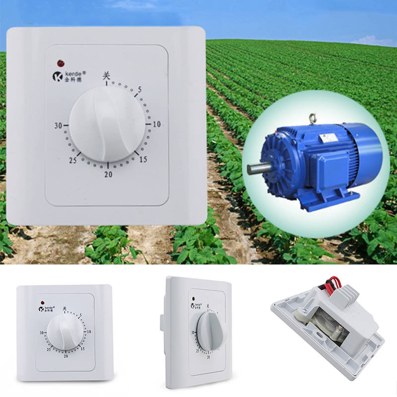 New Arrival Intelligent Time Timer Switch AC 220V 30Min Time Countdown Timer Switch Control Socket For Home Tools 10A