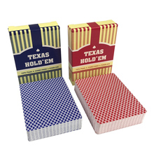 2 Sets/Lot Classic Porker Card Set Texas Poker Cards Plastic Playing Waterproof Frost pokerstars Board Games A Replace