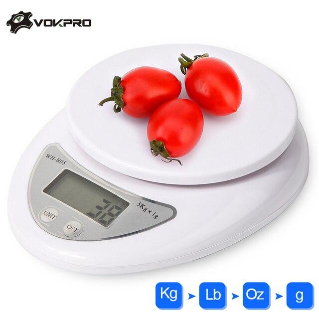 5 кг/1 г цифровые ж/к весы для кухни еда точные портативные гранулированные весы кухонные весы баланс измерительный Вес весы