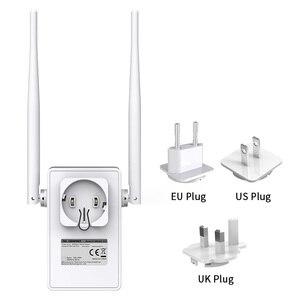 Image 4 - Comfast 300   750 mbps sem fio wifi repetidor amplificador de sinal 2 * 5dbi antena ponto de acesso sem fio ap wi fi alcance estender roteador