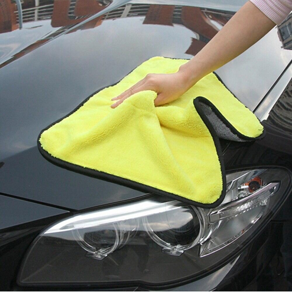 Car-styling Car Care Wash Cleaning Microfiber Towel For Honda Civic Fiat Citroen C4 Picasso Skoda Fabia Focus Mk3 Renault W203 Exterior Accessories