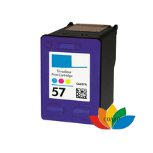 1x Compatible HP 57 XL Tricolor ink cartridge for HP57 PSC 1217 1219 1315 1317 340 1350 1355 2105 2110 2115 2405 2420 All In One(China)