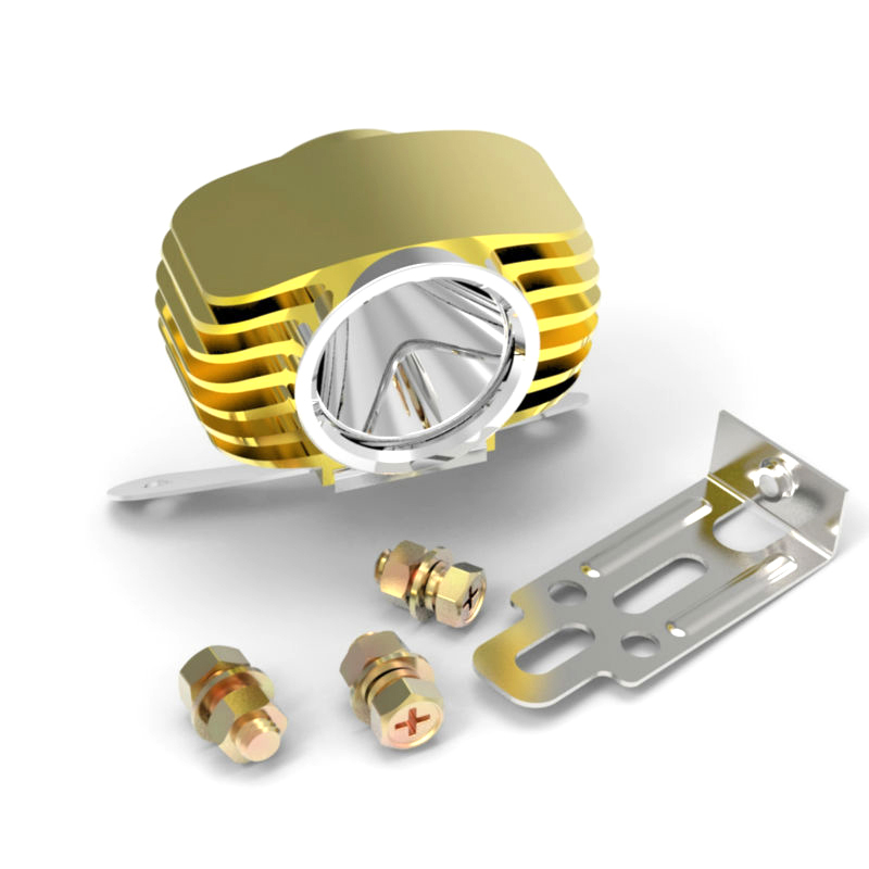 golden led headlight fog light spotlight