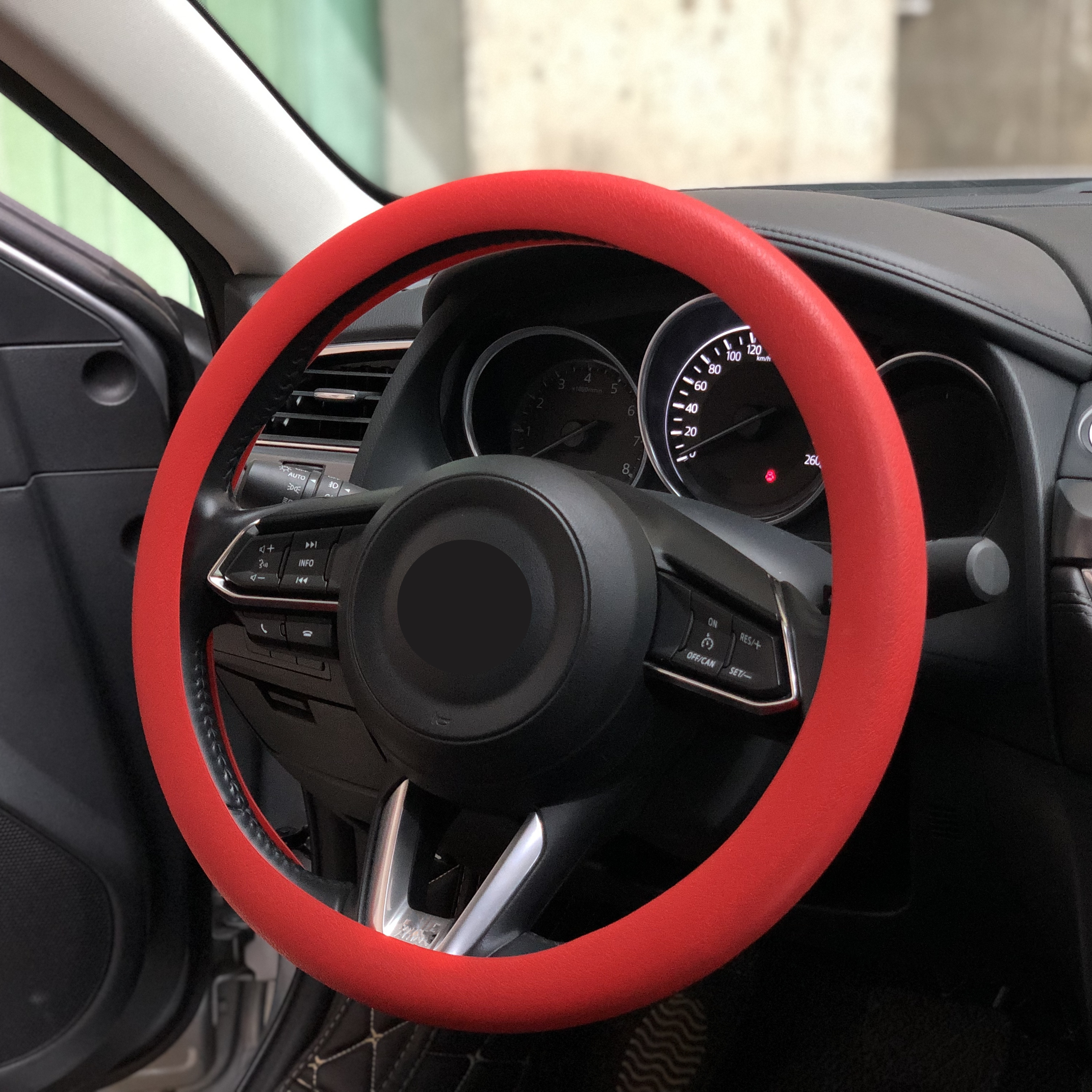 Car Silicone Steering Wheel Cover For Ford Mustang Ranger Figo KA Territory FLEX Transit Super Duty Atlas F-150 F250 F350 F450