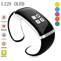Smart Wristband L12S OLED Bluetooth Bracelet Wrist Watch Design For IOS iPhone Samsung Android Phones Wearable Electronic WT8961