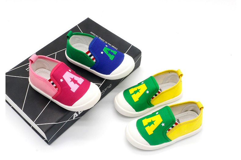 Child Tennis Shoes Kids Canvas Baby Casual Shoes Spring Summer Sport Fashion Flat Shoes Kid Sneakers Boys Girls School Color