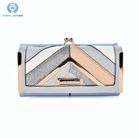 ANNA JONES New Arrival Women Wallet Fashion Crocod Wallets Ladies Long Clutches With Coin Purse Card