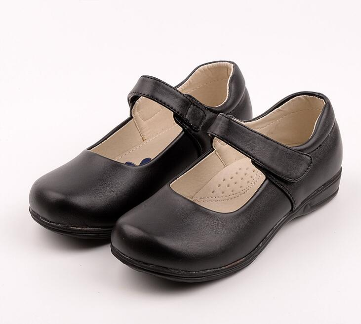 Spring and Autumn model new girls shoes students show school uniform shoes little girl black white princess single shoes mori girl japanese cute bow buckle students single shoes school uniform jk leather shoes cross straps lolita princess shoes page 3