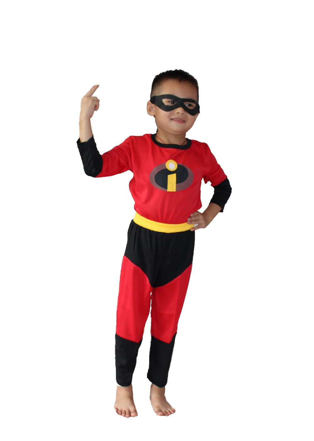 halloween party costumes children 39 s three piece model clothing role playing the incredibles. Black Bedroom Furniture Sets. Home Design Ideas