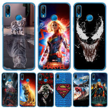 Luxury For Huawei Mate 9 10 20 P8 P9 P10 P20 P30 P Smart Lite Plus Pro Cover Case Silicone Coque Etui Captain marvel venom joker