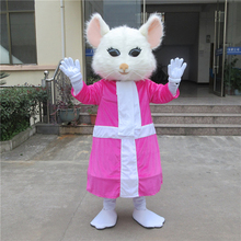 Alice In Wonderland Cosplay Costume Mouse Mascot Halloween Party Dress for Christmas