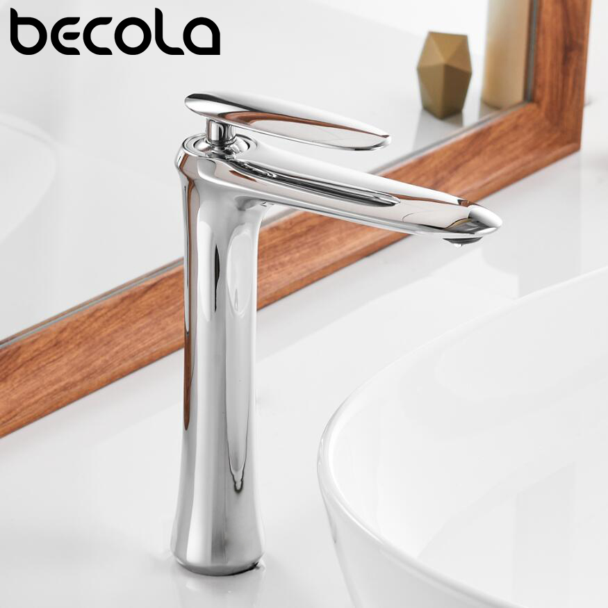 Tall Basin faucet bathroom sink faucet basin mixer tap bathroom faucet waterfall faucet bathroom white brass sink tap torneiraTall Basin faucet bathroom sink faucet basin mixer tap bathroom faucet waterfall faucet bathroom white brass sink tap torneira