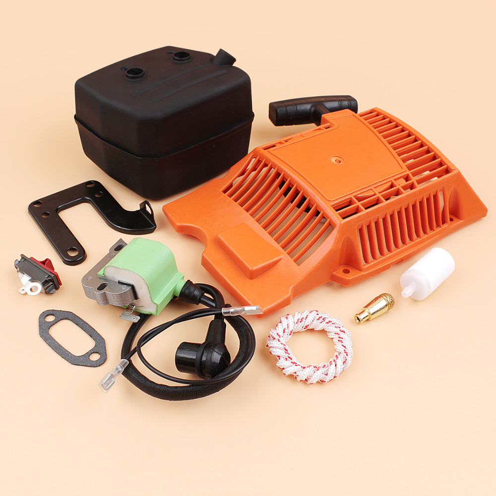 Chainsaw 268 503615571 Starter Kit Recoil Coil Spare 272 Ignition Parts Muffler HUSQVARNA 272XP Pull Fit
