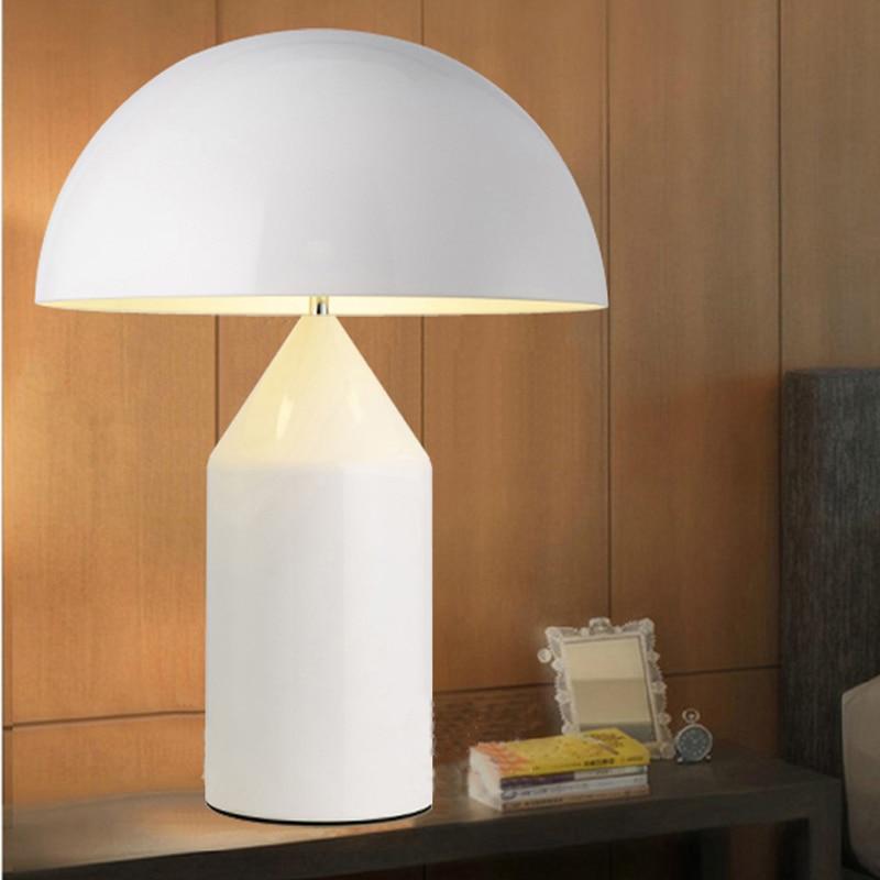 Nordic постмодерн Творческий гриб настольная лампа творческий настольная лампа простой Гостиная спальни ночники HGT1114 ...