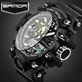 2016 Последние Мода Цифровые Наручные Часы Мужчины Спорт Кварцевые Часы Световой Указатель Противоударный Моды Часы Relogio Masculino