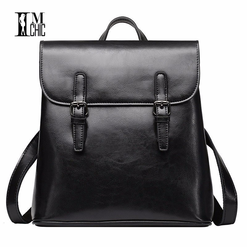 Literary Artistic Luxury Split Leather Women Stylish Backpacks Vintage Woman Bags Backpack Preppy Style Travel Cool Girl Gift