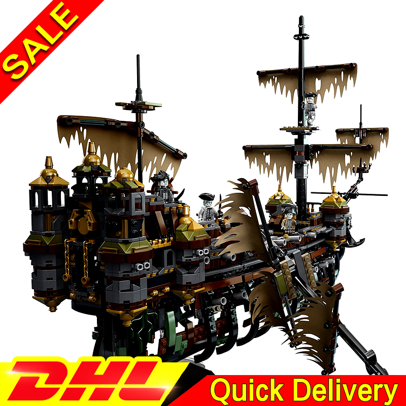 Lepin 16042 2344Pcs Pirate Ship Kits The Slient Mary Set Children Educational Building Blocks Bricks Toys Model Gift Clone 71042 kazi building blocks toy pirate ship the black pearl construction sets educational bricks toys for children compatible blocks