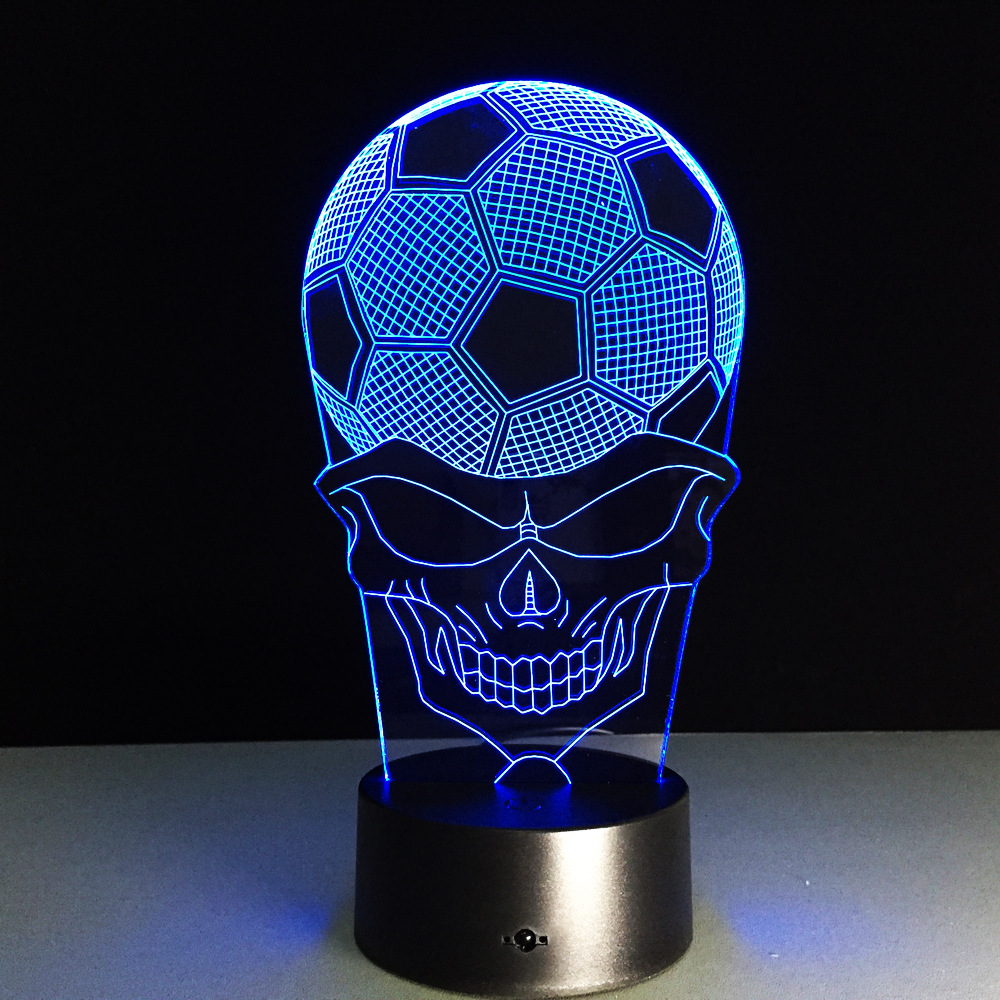 Lampen Dortmund Us 11 94 23 Off 7 Colors 3d Illusion Lamp Dortmund Soccer Colorful Night Lights Reus 3d Visual Lights Desk Touch Switch Football Lamp In Led Night