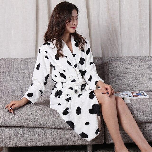 Inverno mini quimono das mulheres robe moda outono senhora flanela banho vestido yukata camisola sleepwear pijamas um tamanho