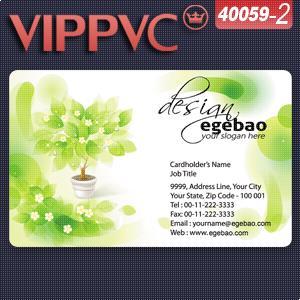 a40059-2 Best Card printing Matte PVC Card
