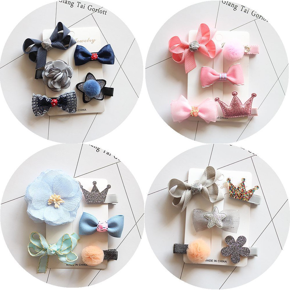 fashion hair clip accessories bows for child kawaii tiara headdress girls hairpins hair barrette ornaments headwear hairgrips pf leaf shape hairpins crystal cute headwear alloy hair clips barrette women girls headdress spring clip hair accessories ts1160