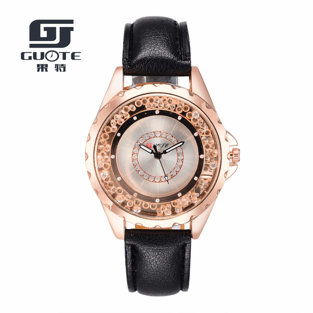 GUOTELuxury Brand Watch Women Popular Womens Watches