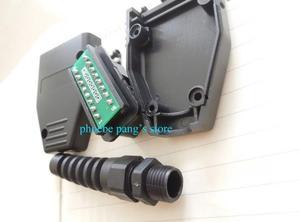 Image 2 - 25% オフ FINETRIP ユニバーサルプラスチック Diy 車ケーブルケース Obd 雄プラグ OBD2 16Pin コネクタ J1962 卸売 50 個