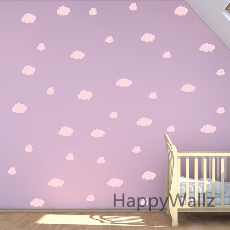 clouds wall sticker baby nursery cloud wall decal diy children wall