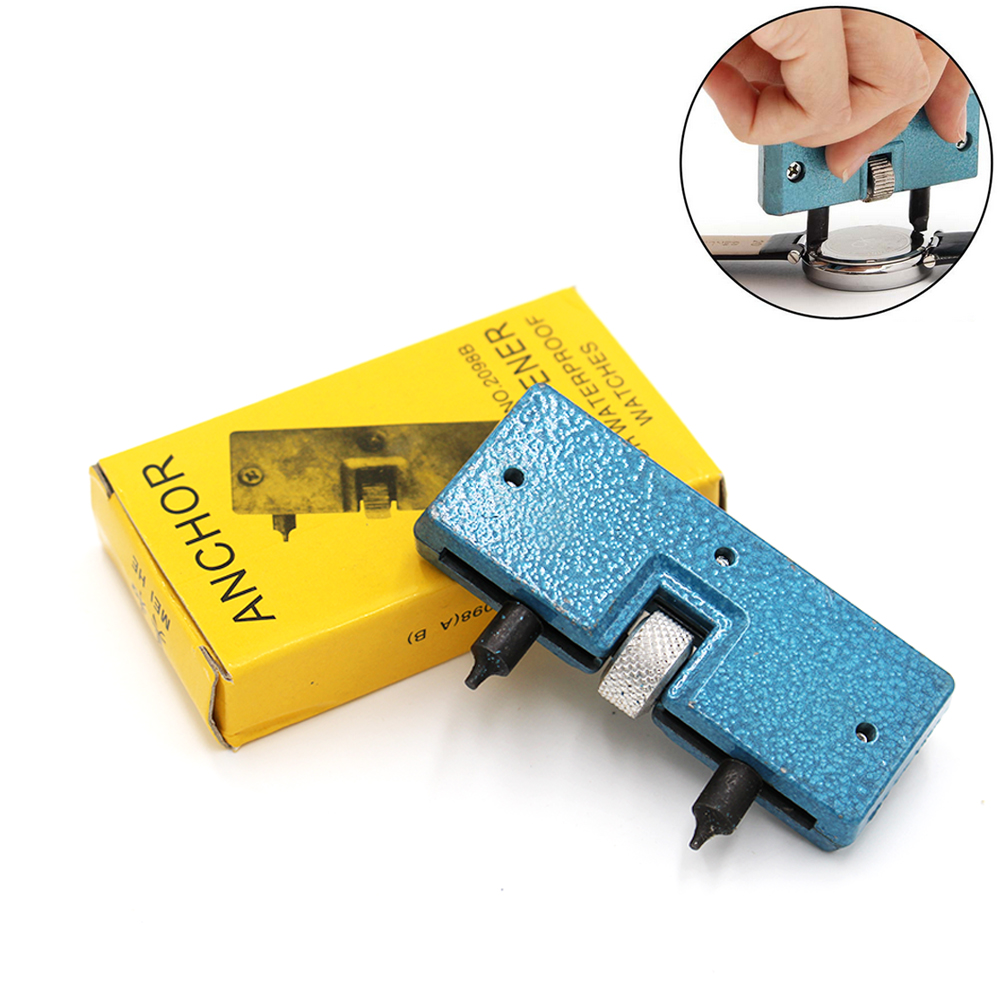 Professional Watch Repair Tool Adjustable All Watches Back Case Opener Cover Remover Watchmaker SX033 watch repair tool kit watch tools 9 5cm 4 5cm pins puller watchmaker tools watch hand remover tool parts accessories