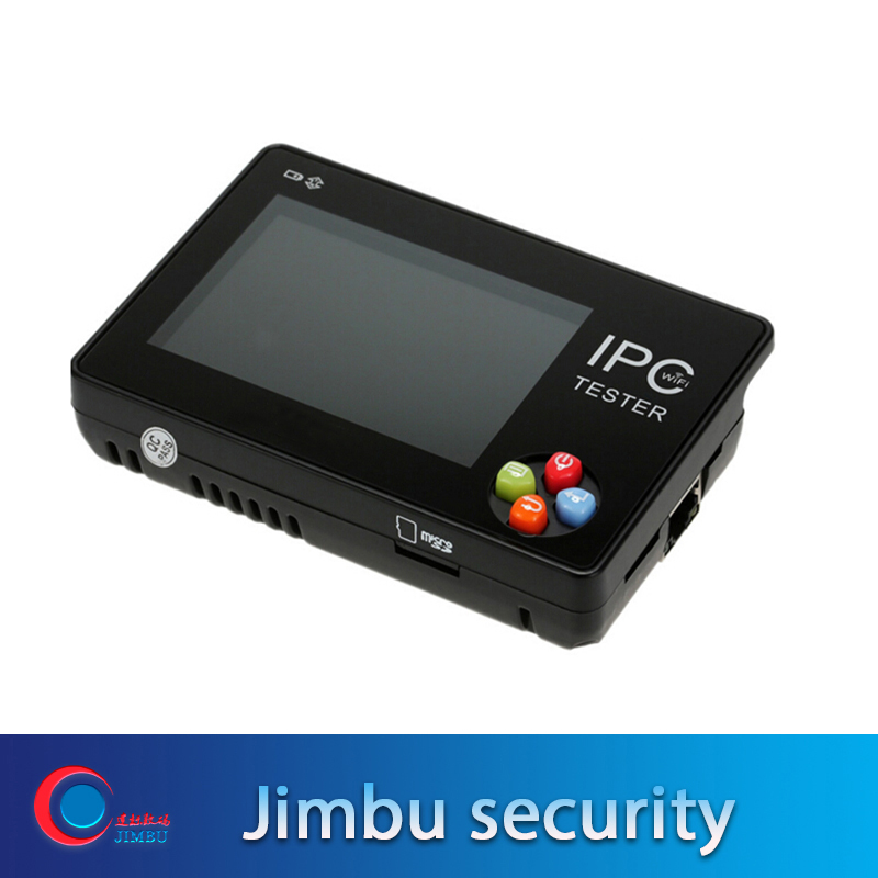 New 3.5 Inch IPC-1600 IP Camera Tester Touch Screen PTZ/WIFI/FTP Server/IP Scan/Port Flashing/DHCP Onvif