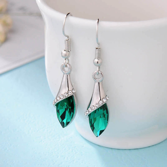 Brincos Crystal Earrings For Women Hot sale Fashion costume Jewelry Women  Special Offer Classic Long Earring Pendientes 65b72d251f81