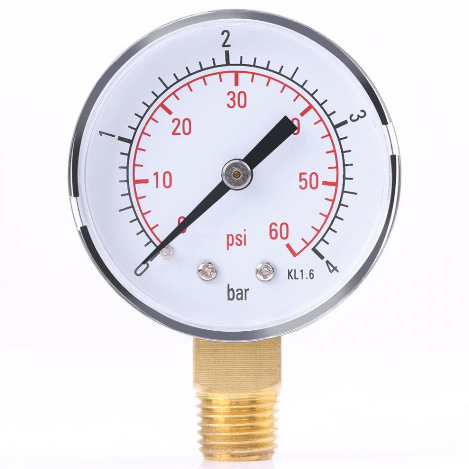 Oil For Measuring Instruments : Newstyle water pressure gauge pool spa filter manometer