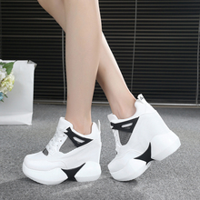 2017 Autumn New Ladies Casual Shoes Women s Shoes Increase Thick Soles Shoes New Fashion