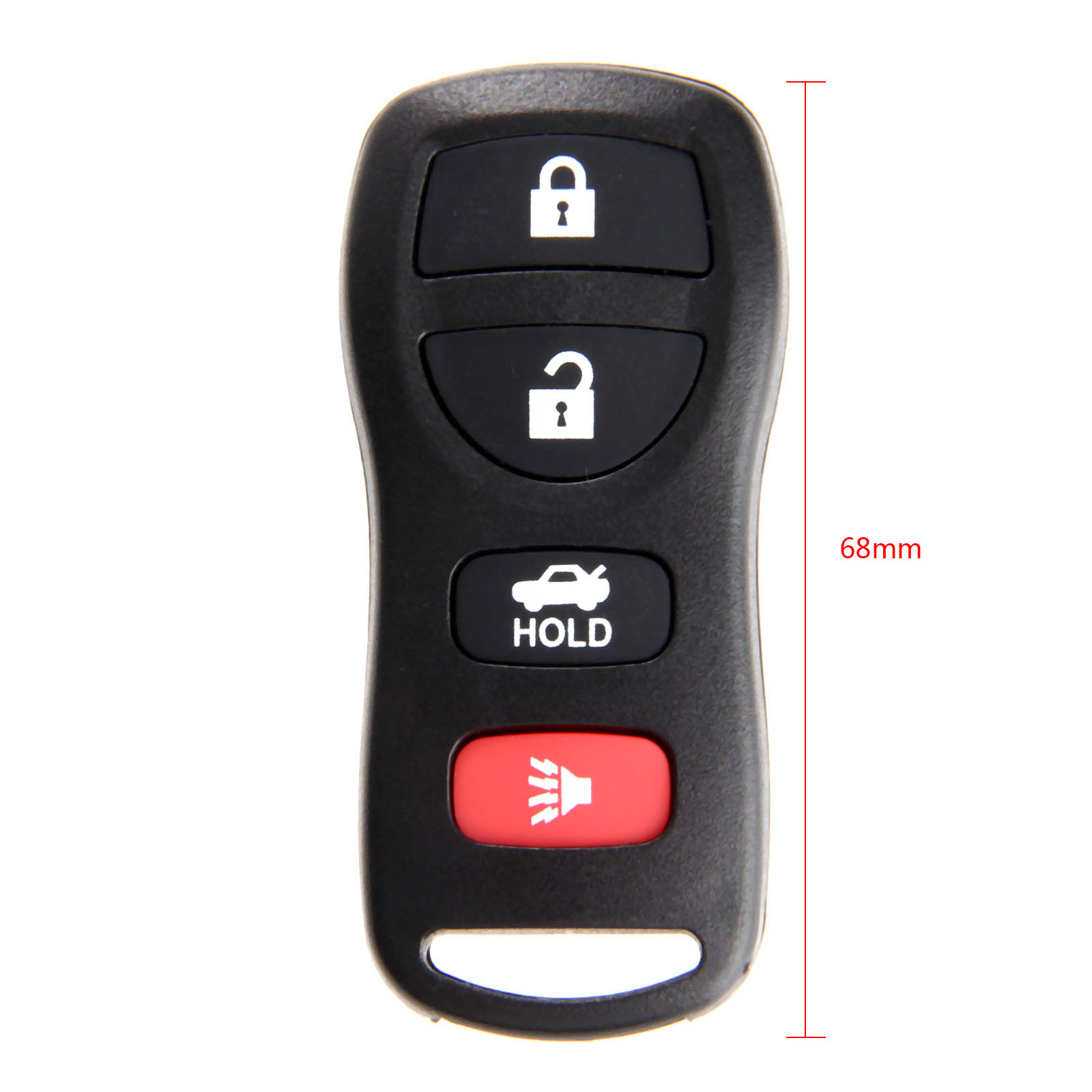 Image 2 - 4 Buttons KBRASTU15 Keyless Entry Remote Car Key Fob Case Shell 315Mhz For Nissan Altima Armada Maxima 350Z Sentra Infiniti-in Car Key from Automobiles & Motorcycles