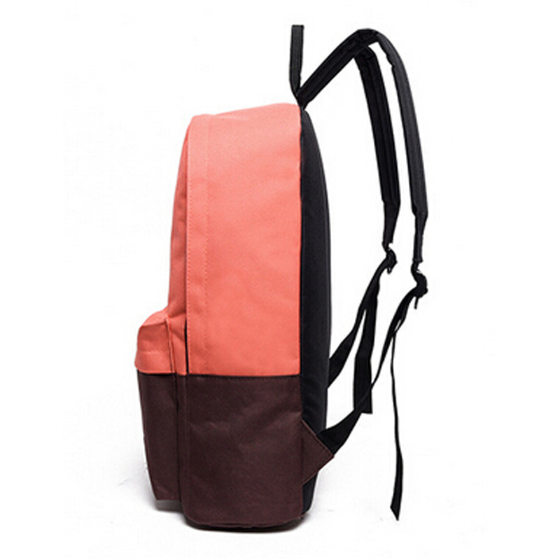 para adolescentes mochila diário bolsapack Técnica : Women Men Panelled Travel School Backpack