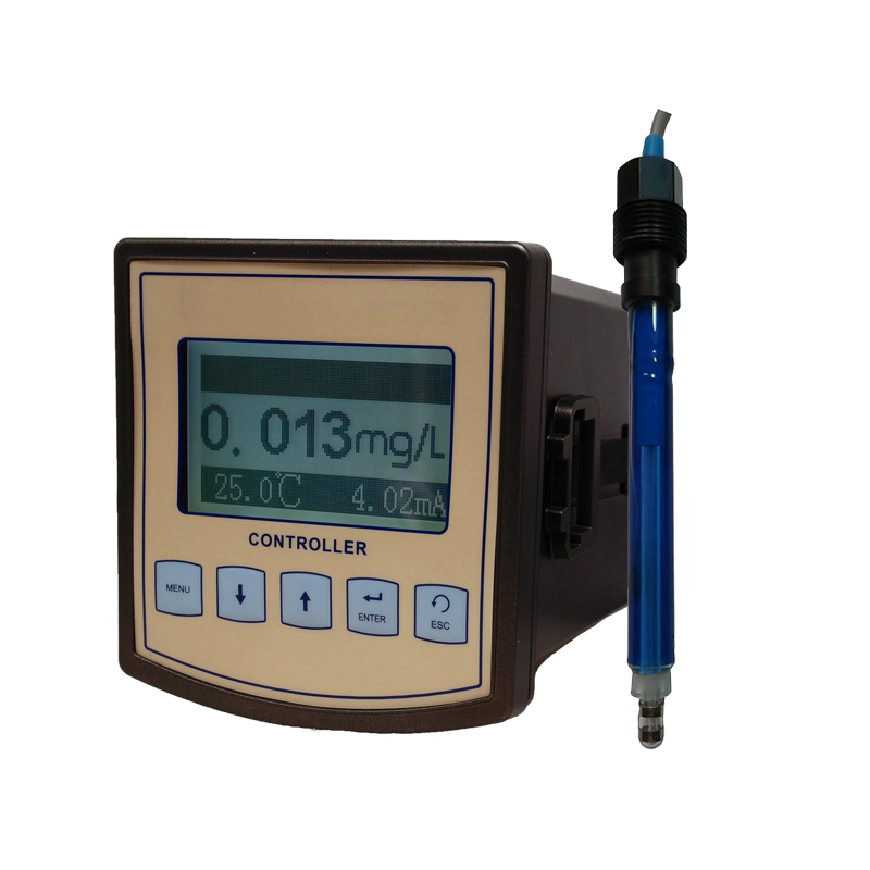 Online Digital Ozone Meter Controller Dissolved Ozone in water Analog Voltage 4~20mA RS 485 MODBUS RTU Output