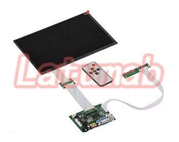 "Latumab 10.1"" EJ101IA-01G HD LCD Display Screen High Resolution Monitor Remote Driver Control Board 2AV HDMI VGA Free shipping"