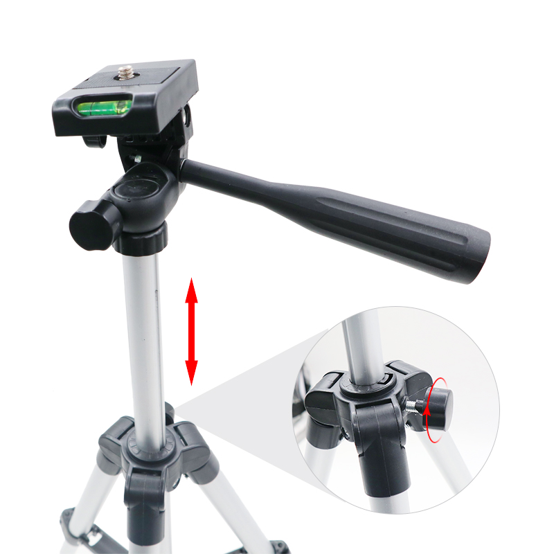 65 см Профессиональный штатив складной держатель для камеры стенд винт 360 градусов с жидкой головкой штатив стабилизатор Штатив для телефона