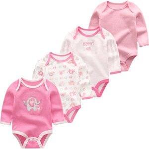Image 1 - 新生児服ロンパース幼児衣装男の子服長袖綿3 12m幼児パジャマropaデベベ