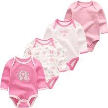 Noworodka dziewczynka ubrania pajacyki kostium dla malucha baby boy odzież z długim rękawem bawełna 3 12M niemowlę piżamy ropa de bebe