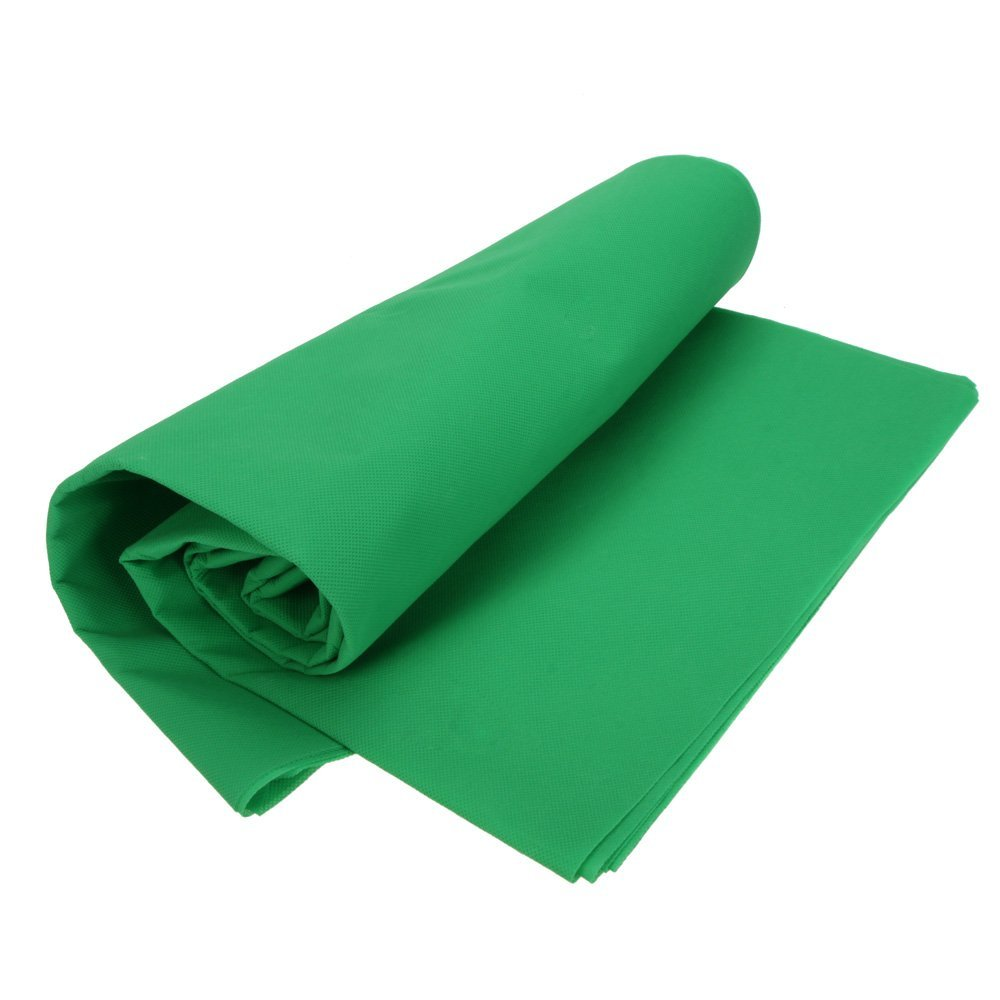CES-Photography Studio Video 1.8*3m/5.9*9.8ft Nonwoven Fabric Backdrop Background Screen Green цена и фото
