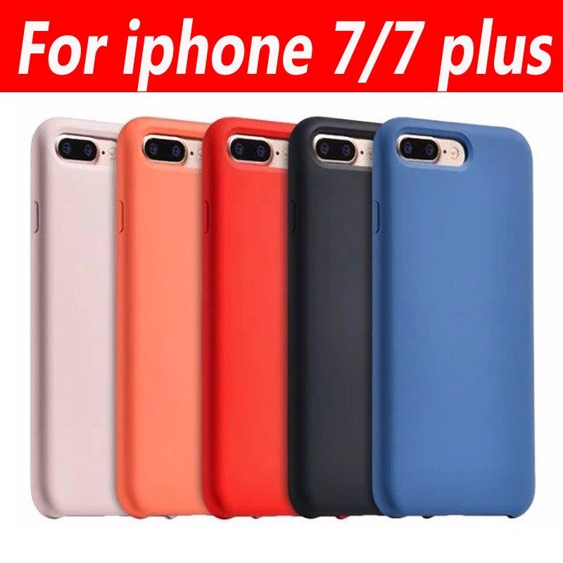 bilder für Hoco Für Iphone7 7 Plus Fall Ursprüngliche Serie Silikagel Magnetische Abdeckung Für iPhone 7 7 Plus Case Schutzhülle