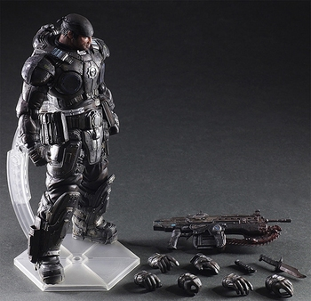 Фигурка Маркус Феникс Gears of War 27 см Play Arts