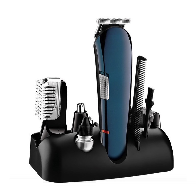 Kit de toilettage pour hommes 5 en 1 tondeuse à cheveux électrique et tondeuse à barbe pour Machine à couper les cheveux, rasoir corporel, USB Rechargeable
