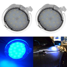 Lonleap Courtesy Lights Under Side Mirror Puddle Light for Ford Edge Mondeo Taurus F-150 Expedition 2 Pcs LED Car Additional lonleap courtesy lights under side mirror puddle light for ford edge mondeo taurus f 150 expedition 2 pcs led car additional