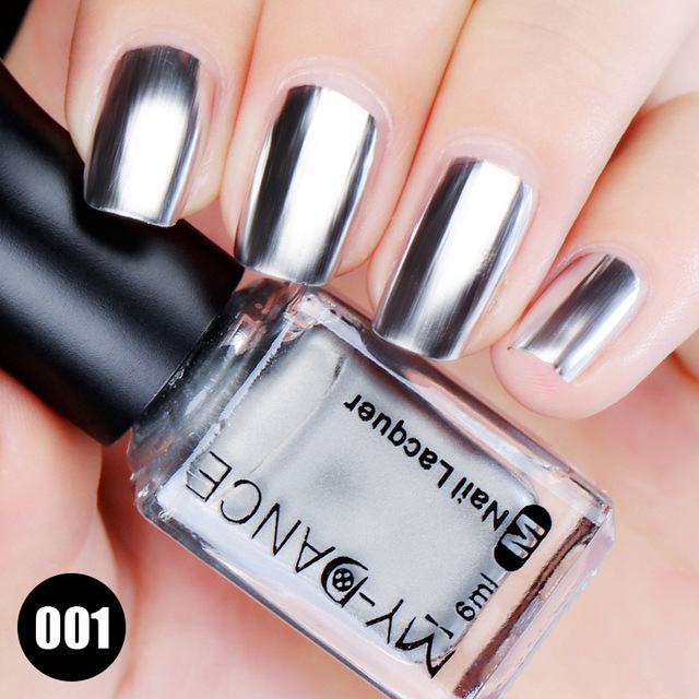 6ML Nail Polish Mirror Effect Varnish Professional Nail Gel Polish ...